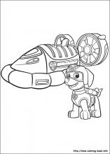 Paw Patrol Coloring Pages On Coloring Book Info