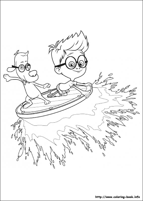 sherman Coloring peabody pages mr