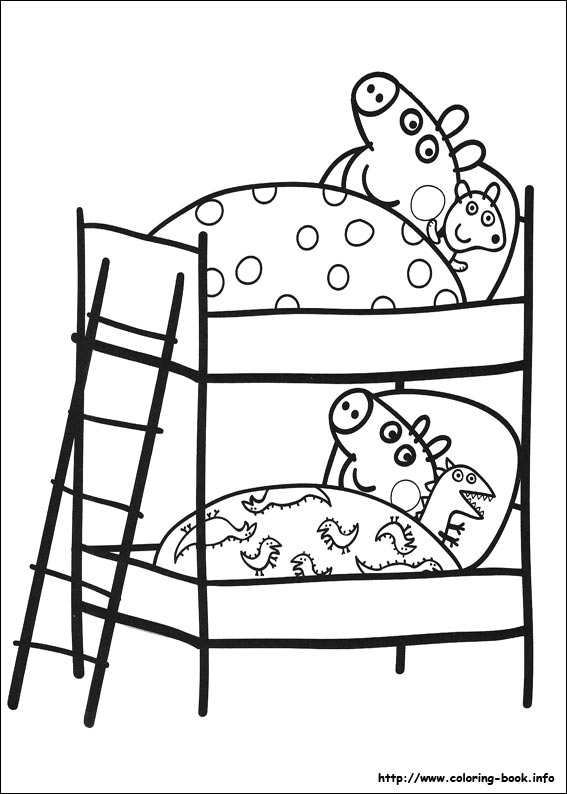 peppa pig coloring pages on coloring book info