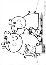 Peppa Pig Coloring Pages On Book