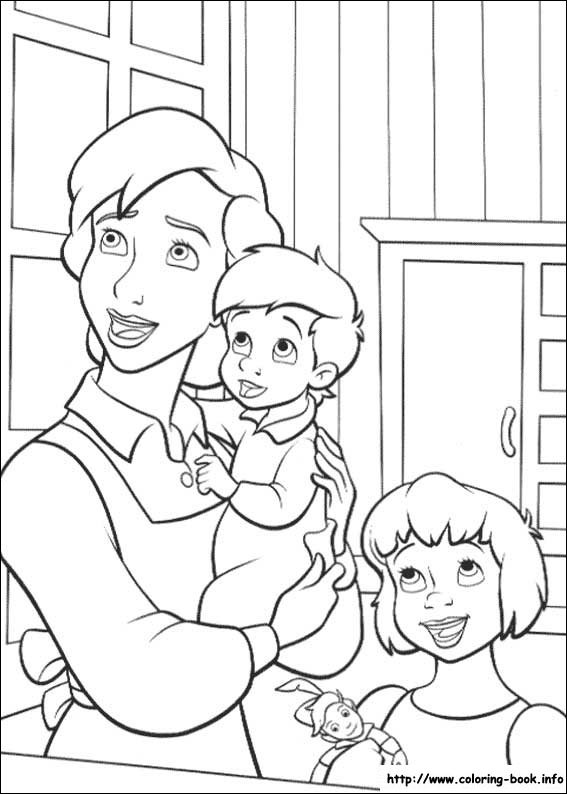 Peter Pan 2 coloring picture