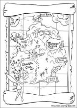 Peter Pan coloring pages on Coloring-Book.info