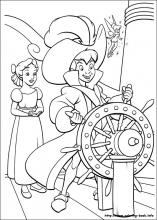 peter pan coloring pages on coloring bookinfo - Peter Pan Coloring Pages Print