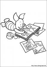 piglet coloring pages on coloring bookinfo piglet - Coloring Book Info