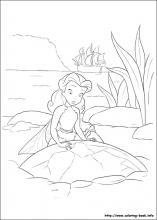 The Pirate Fairy coloring pages on Coloring-Book.info