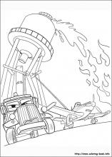 Planes Fire Rescue Coloring Pages On Book