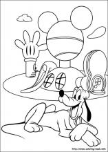 Pluto Coloring Pages On Coloring Book Info Pluto Coloring Pages
