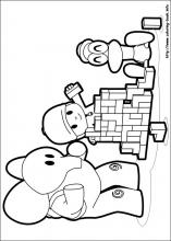 Pocoyo Coloring Pages On Coloring Book Info