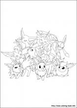 Pokemon coloring pages on Coloring-Book.info
