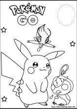 Pokemon coloring pages on ColoringBookinfo