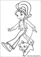 Polly Pocket Coloring Pages On Coloring Book Info