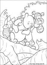 Winnie The Pooh Easter Coloring Pages - GetColoringPages.com | 220x157