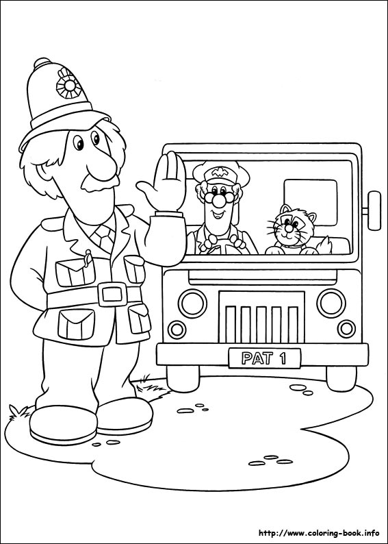Captivating 31 Postman Pat Pictures To Print And Color. Last Updated : May 28th