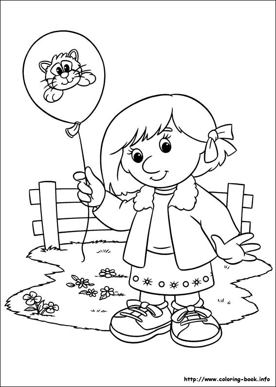 Pat coloring picture