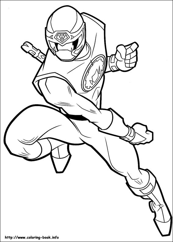 Power Rangers Coloring Picture Www Coloring Book Info