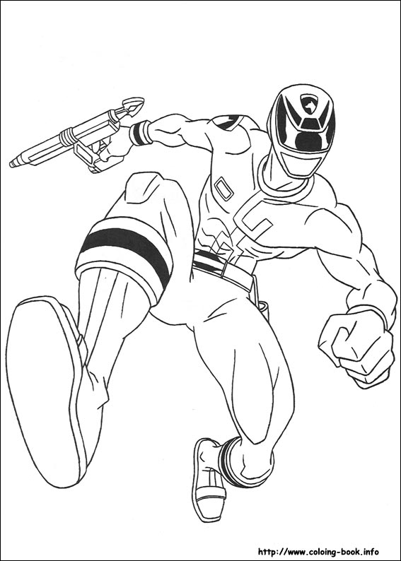Power Rangers coloring pages on Coloring-Book.info