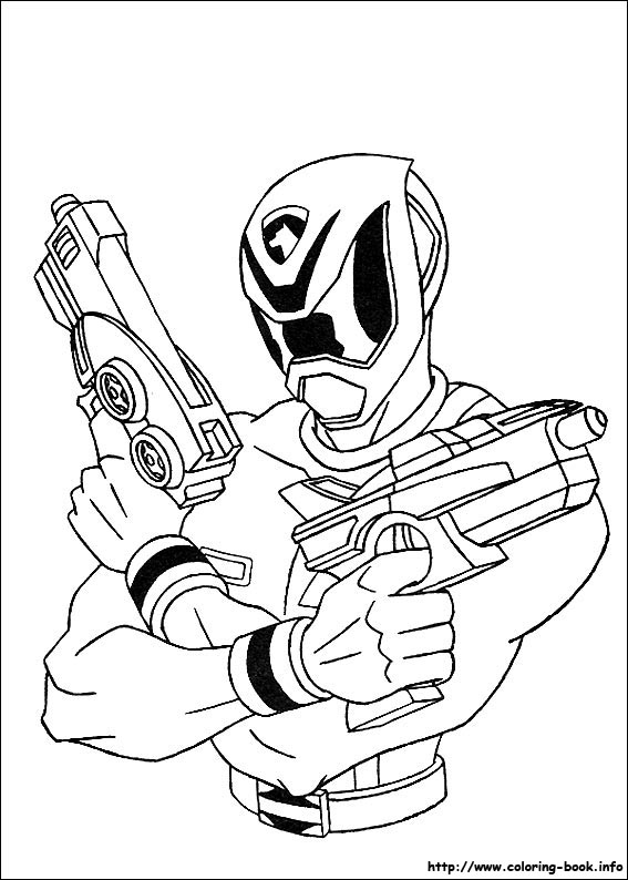 power rangers kid coloring pages - photo#32