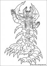 Power Rangers Coloring Pages On Coloring Book Info