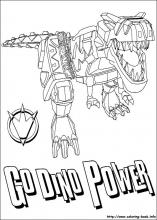 power rangers coloring pages on coloring-book.info - Power Rangers Dino Coloring Pages