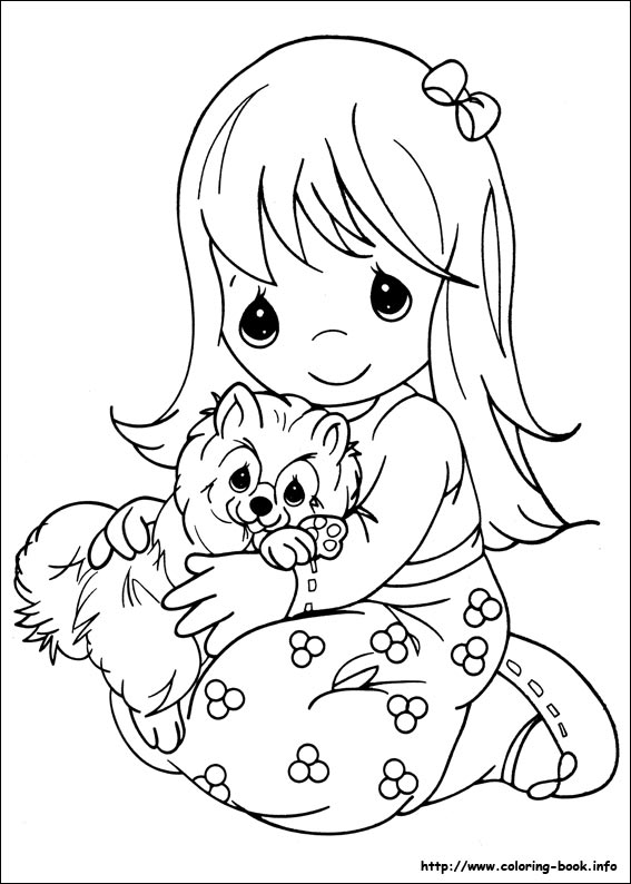 Precious Moments Coloring Picture Precious Moments Printable Coloring Pages