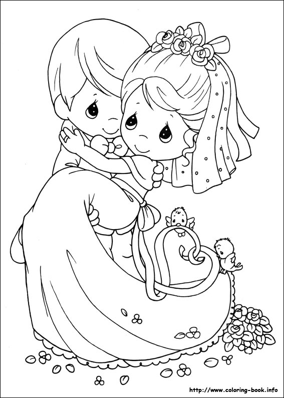 Precious Moments Coloring Books