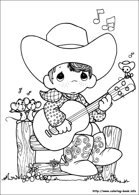 Moments coloring picture