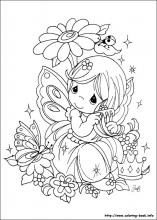 Precious Moments coloring pages on Coloring-Book.info
