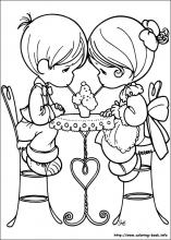Precious Moments coloring pages on Coloring Bookinfo