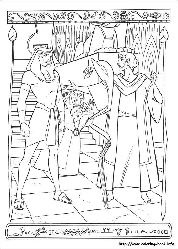 The Prince of Egypt coloring pages on Coloring-Book.info