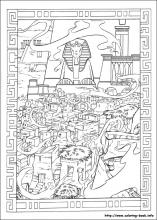 The Prince Of Egypt Coloring Pages On Book