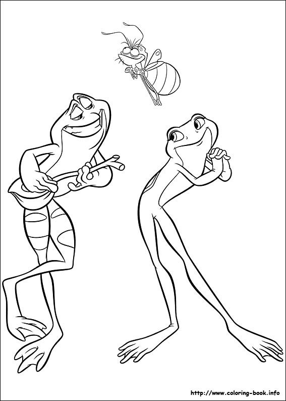 the princess and the frog coloring pages on coloringbook, printable coloring