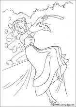 The Princess And Frog Coloring Pages On Book