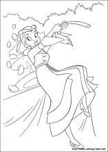Disney Princess Printable Coloring Book