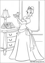 The Princess And The Frog Coloring Pages On Coloring Book Info