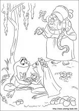 The Princess and the Frog coloring pages on Coloring-Book.info