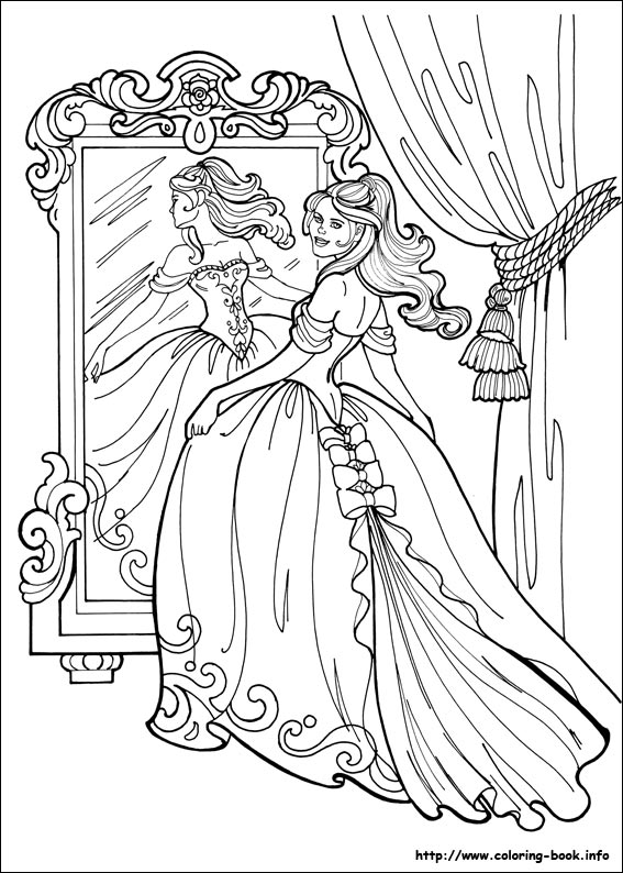 Princess Leonora coloring pages on Coloring-Book.info