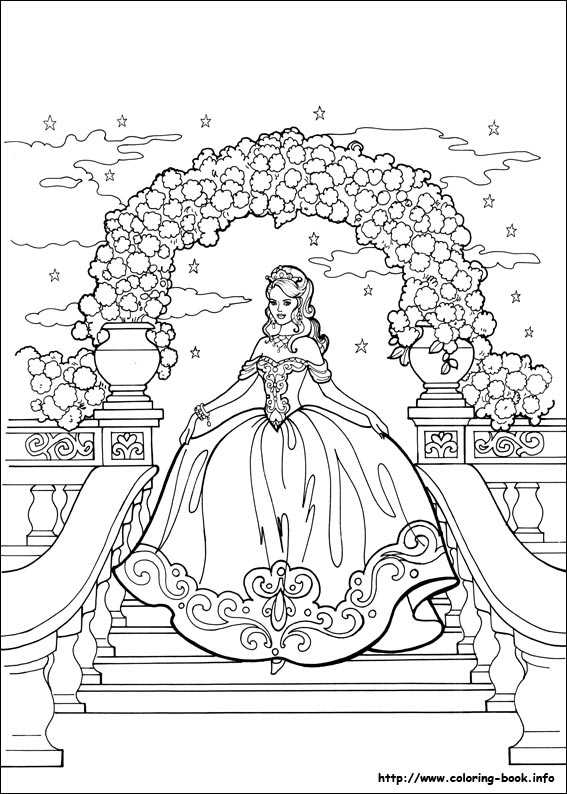 index coloring pages - Princess Coloring Books