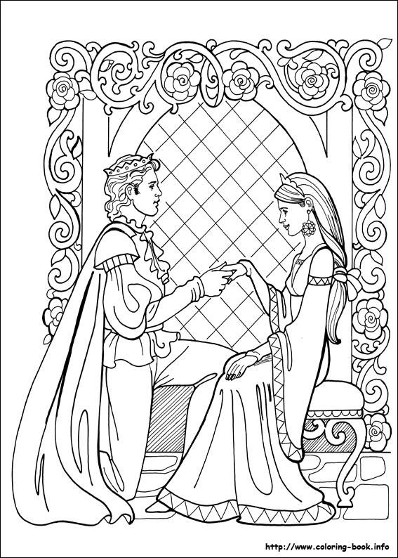 Princess Leonora Coloring Picture