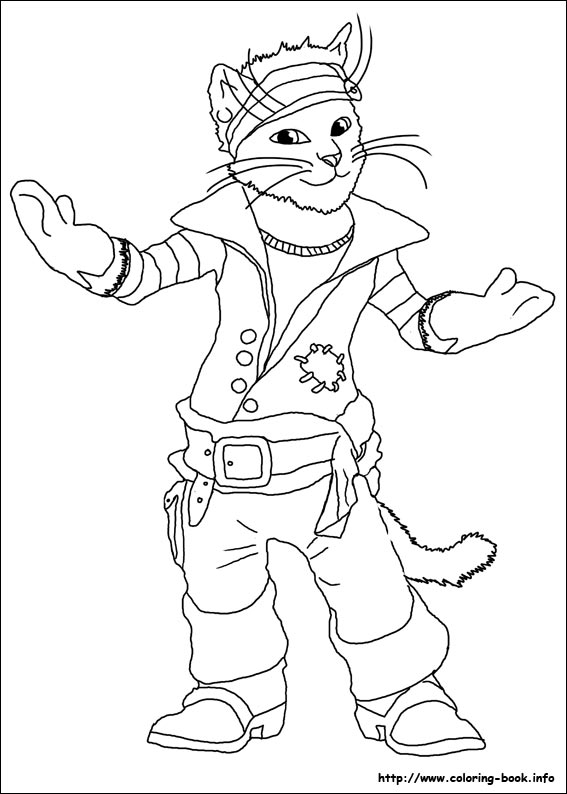 Kleurplaat Frozen Pdf The True Story Of Puss N Boots Coloring Picture