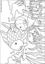 Rainbow Fish coloring pages on Coloring-Book.info