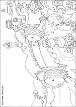 Rainbow Fish Coloring Pages On Book