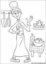 Drawing 20 from Ratatouille coloring page | 220x157