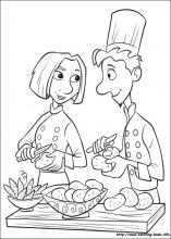 Ratatouille Coloring Pages On Coloring Book Info