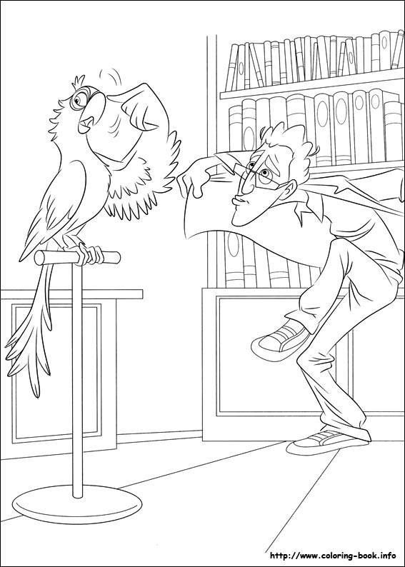 Rio coloring pages on Coloring-Book.info
