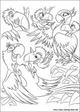 Rio coloring pages on Coloring Bookinfo