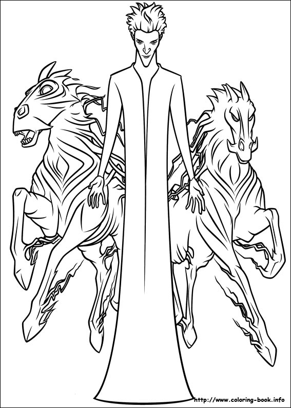 Rise of the Guardians coloring pages for kids