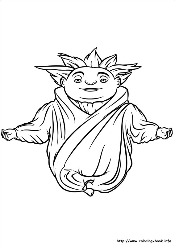 Rise of the Guardians coloring pages on ColoringBookinfo