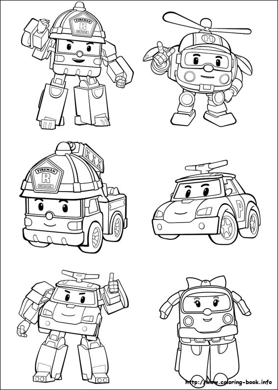 robocar poli coloring pages Robocar Poli coloring pages on Coloring Book.info robocar poli coloring pages