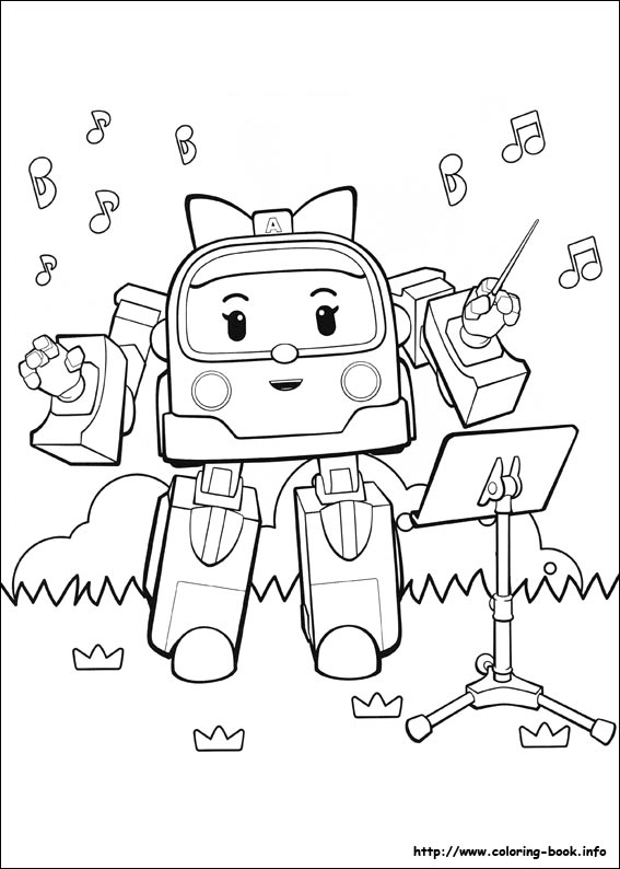 32 Robocar Poli Pictures To Print And Color Last Updated December 5th