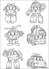 Robocar Poli Coloring Pages On Coloring Bookinfo
